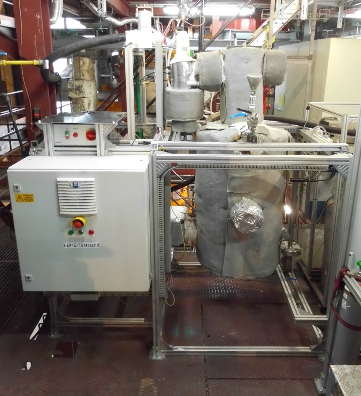 Blasenbildender atmosphärischer Wirbelschichtreaktor (BAR) (c)