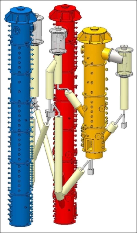 Reactors of the MAGNUS test facility