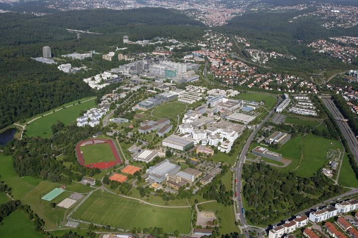 (c) Universität Stuttgart/Luftbild Elsässer