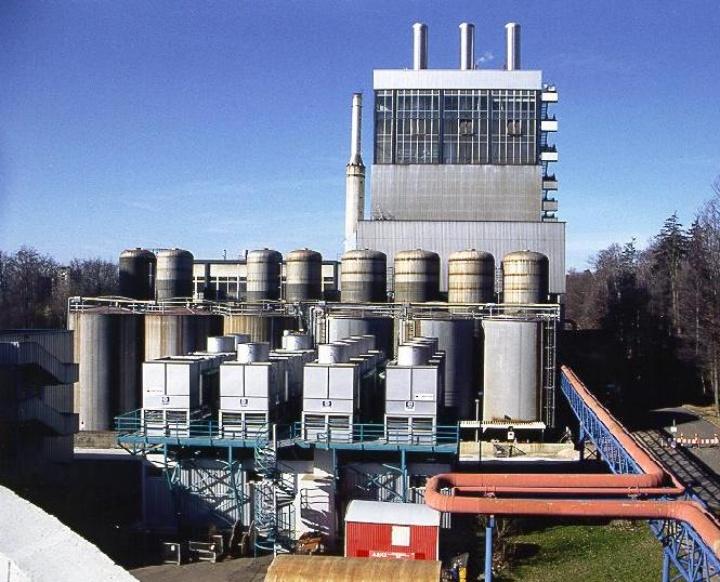 Heizkraftwerk der Universität Stuttgart
